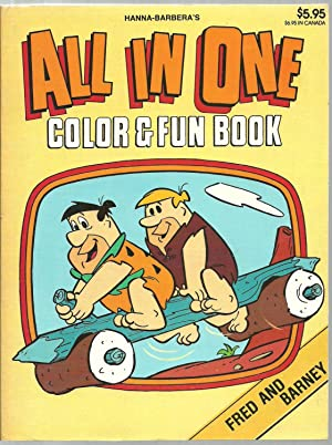 All In One Color & Fun Book, Fred And Barney: Hanna-Barbera