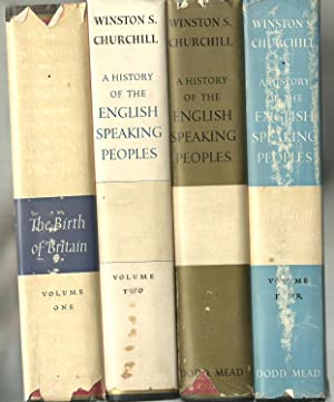 A History of The English Speaking Peoples - 4 Volumes set: Winston S. Churchill