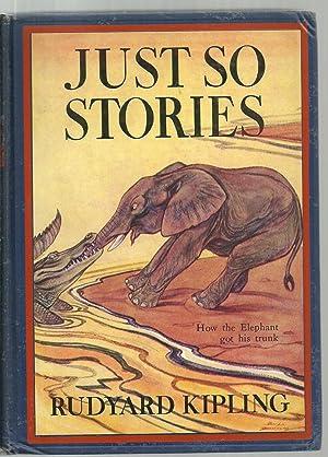 Just So Stories, How the elephant got his trunk: Rudyard Kipling