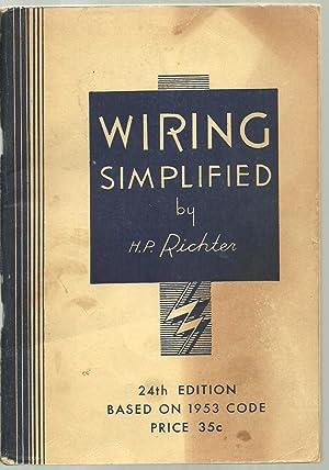 Wiring Simplified: H. P. Richter