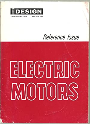 Machine Design, Electric Motors - Reference Issue, March 19, 1964
