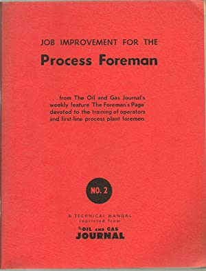 Job Improvement For The Process Foreman - 2 Volumes Set