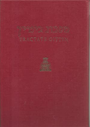 Gittin, Hebrew-English Edition of The Babylonia Talmud: Translated into English with notes, ...