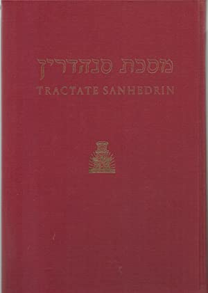 Sanhedrin, Hebrew-English edition of The Babylonian Talmud: Translated into English with notes, ...