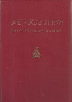 Baba Kamma, Hebrew-English edition of The Babylonian Talmud: Translated into English with notes, ...