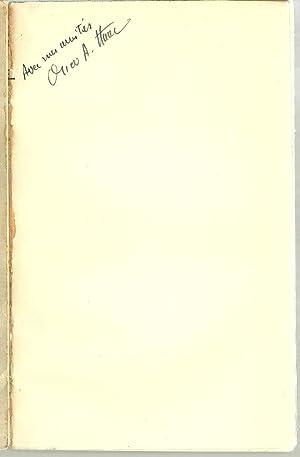La Theodicee et La Virginie Romaine - Inscribed by Author: Oscar A. Haac