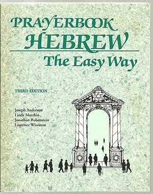 Prayerbook Hebrew, The Easy Way: Joseph Anderson, Linda