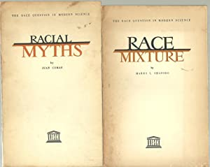 The Race Question In Modern Science - 4 Volumes Set: See description