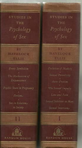 Studies In The Psychology of Sex - 2 Volumes Set: Havelock Ellis