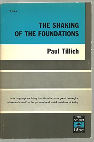 The Shaking of The Foundations: Paul Tillich