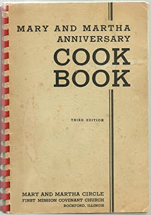 Mary And Martha Anniversary Cook Book