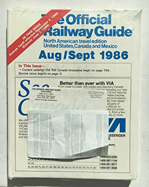 The Official Railway Guide Aug/Sep 1986 (North