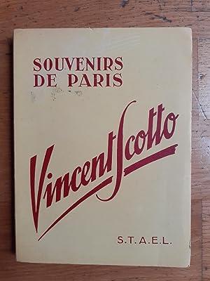 SOUVENIRS DE PARIS.: SCOTTO Vincent.
