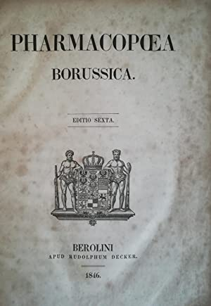 Pharmacopoea Borussica.