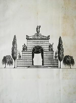 Importante miscellanea. 6 opere complete. Orazioni funebri: AA. VV.