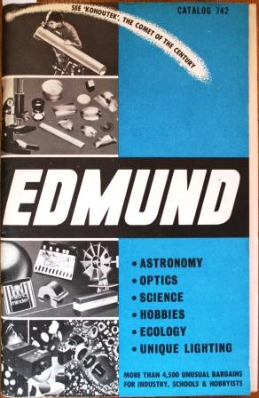 Edmund. Astronomy. Optics. Science. Hobbies. Ecology. Unique: VV. AA.