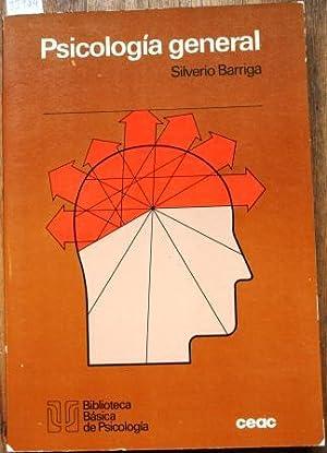Psicología General (curso introductorio): BARRIGA, Silverio