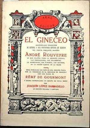 El Gineceo. Imponderable colección de setenta y: ROUVEYRE, André
