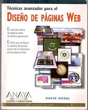 Técnicas avanzadas para el diseño de páginas web: SIEGEL, David