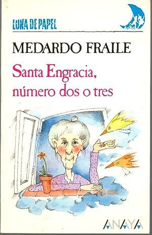 Santa Engracia, número dos o tres. Ilustraciones Mabel Piérola: FRAILE, Medardo