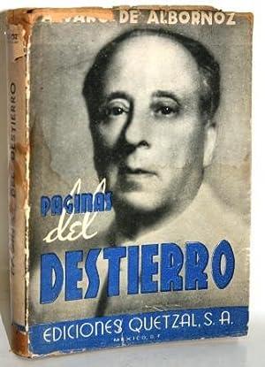 PÁGINAS DEL DESTIERRO: ALBORNOZ, Álvaro de
