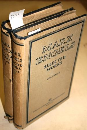 Selected Works in two volumes. Manifesto of: MARX , Karl
