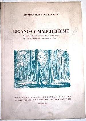 Biganos y Marcheprime. Contribución al estudio de: FLORISTÁN SAMANES, Alfredo