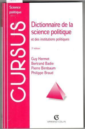 DICTIONNAIRE DE LA SCIENCE POLITIQUE et des: HERMET,Guy; BADIE, Bertrand;