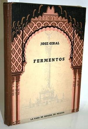 FERMENTOS: GIRAL PEREIRA, José