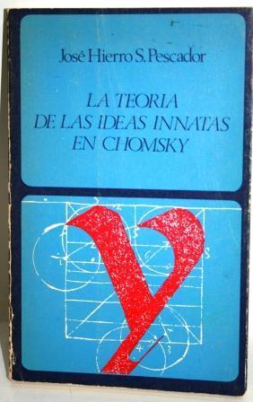 LA TEORÍA DE LAS IDEAS INNATAS EN: HIERRO S. PESCADOR,