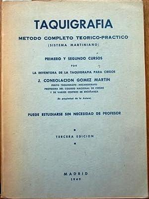 Taquigrafía. Método completo teórico-práctico (sistema