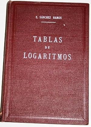 Tablas de Logaritmos, trigonométricas y de cálculos: SÁNCHEZ RAMOS, Eusebio
