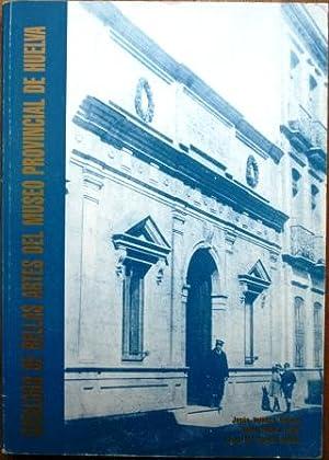 Catálogo de Bellas Artes del Museo Provincial: VELASCO NEVADO, Jesús;