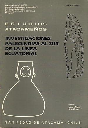 Investigationes Paleoindias Al Sur De La Linea: Nunez, Lautaro