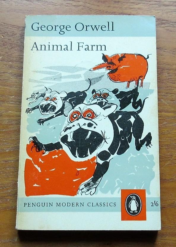 Animal Farm By Orwell George Fair Soft Cover 1963 Salopian Books