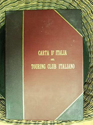 Carta D'italia Del Touring Club Italiano