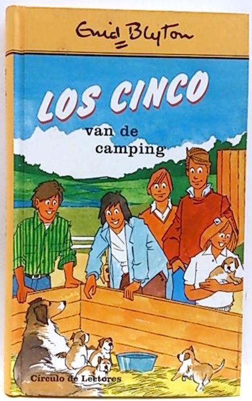 Los cinco van de camping - Blyton, Enid
