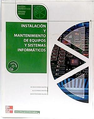 Instalación y mantenimiento de equipos y sistemas: Ramos Martín, María