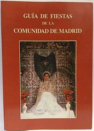 Guía de fiestas de la Comunidad de: Martín Castillo, María;