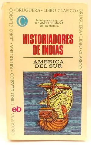 Historiadores de Indias: Masia, Ángeles