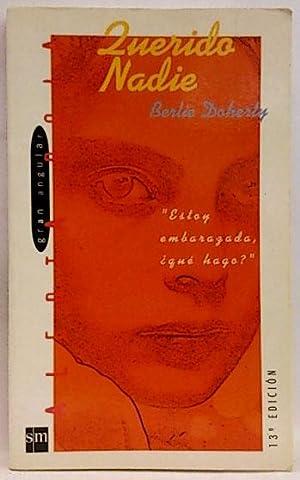 Querido nadie: Doherty, Berlie