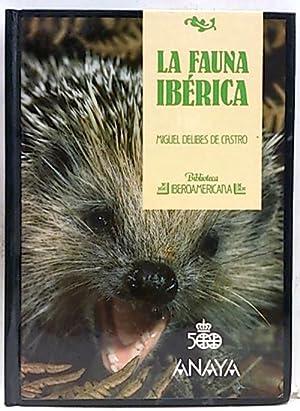 Fauna Ibérica: Delibes de Castro,