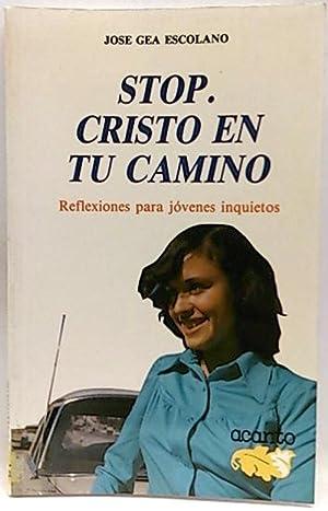Stop: Cristo en tu camino : reflexiones: Gea Escolano, José