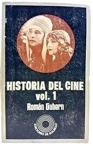 Historia del cine. (Tomo 1): Gubern Bernard, Román