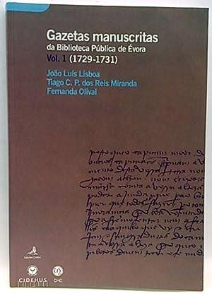 Gazetas manuscritas da biblioteca Pública de Évora: Lisboa, Joao Luís;
