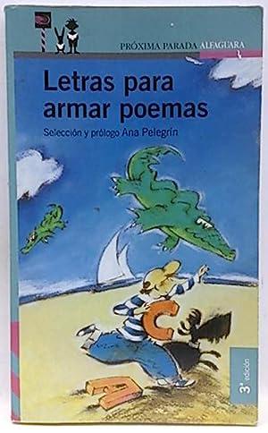 Letras para armar poemas: Pelegrín, Ana María