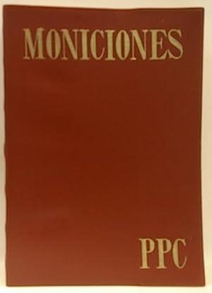 Moniciones de la asamblea cristiana: Tomás Burgaleta, Jseús;