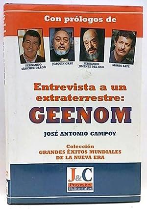 Entrevista a un extraterrestre, Geenon: Campoy Sanz-Orrio, José