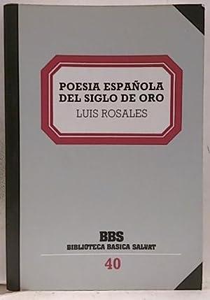 Poesía española del Siglo de Oro: varios autores