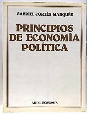 Principios de economía política: Cortés Marqués, Gabriel